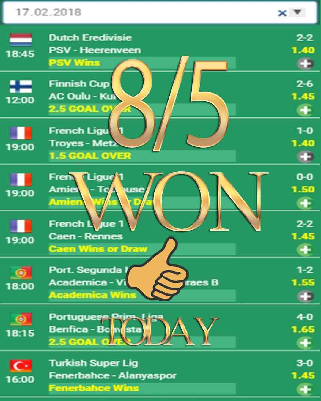 Scout Betting Tips — 8/5 WON — Betsson, Football tipster, Bet tipster
