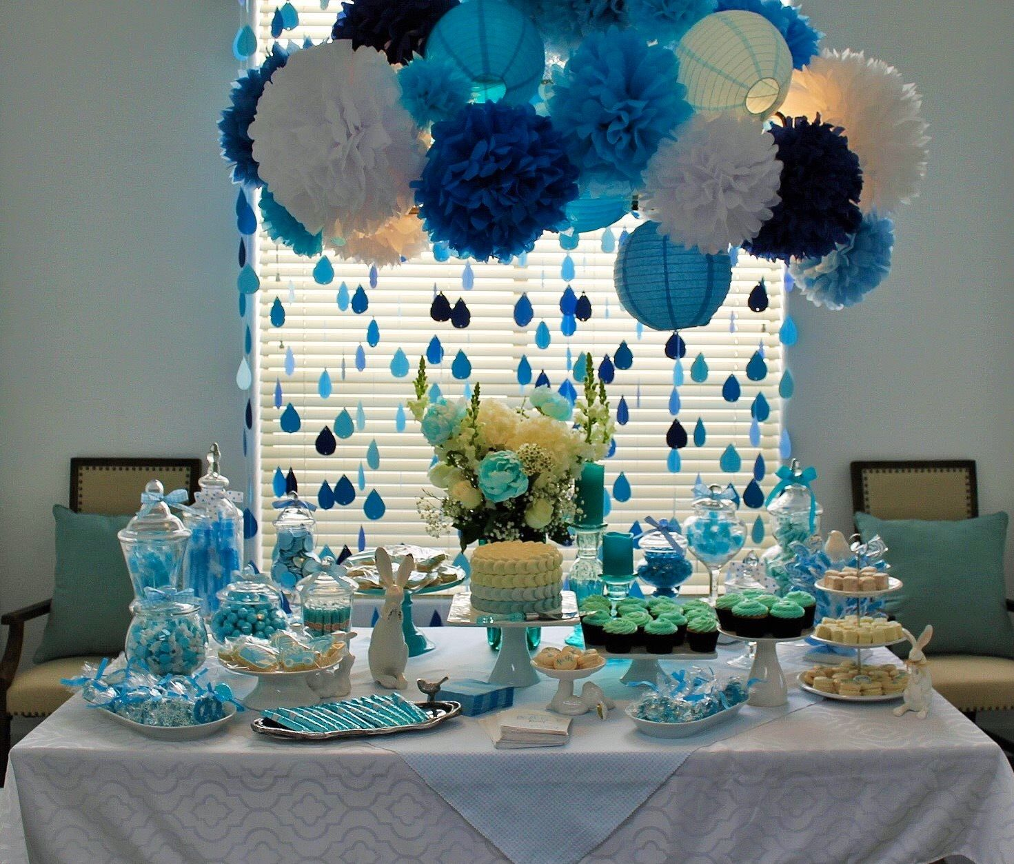Boy Baby Shower Candy Table Baby Shower Candy Baby Shower Candy Table Candy Table Baby Shower Boy