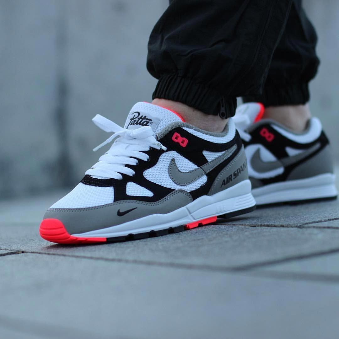 meet de360 7b598 Patta x Nike Air Span II  Sneakers