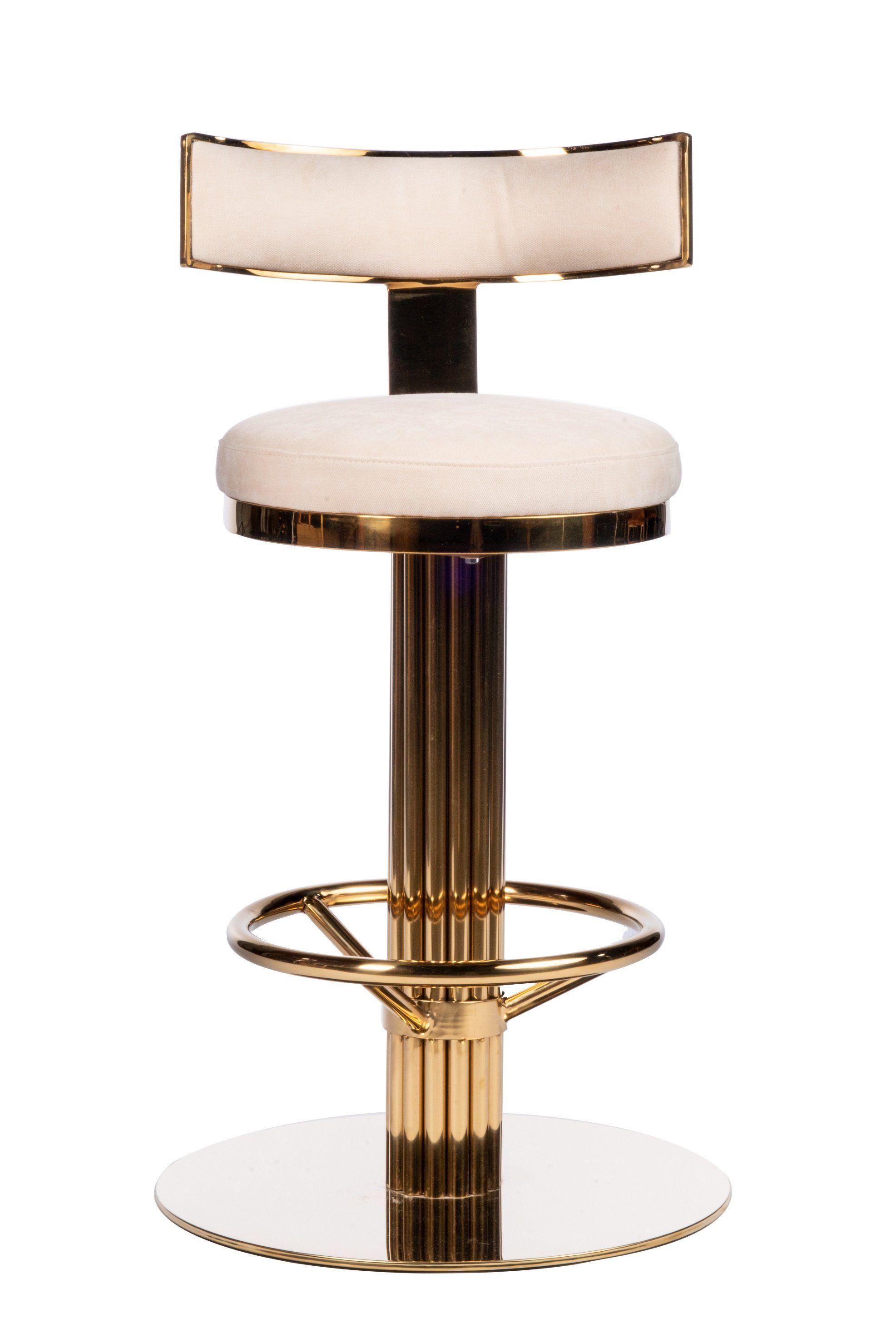 J 112rb Oscar Swivel 26 Gold Counter Chair Luxury Bar Stools Luxury Bar Design Counter Chairs