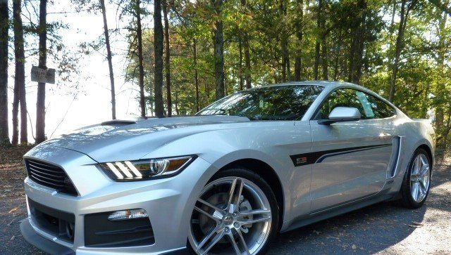 2017 Ford Mustang Roush Rs V6 In Ingot Silver Metallic 70285