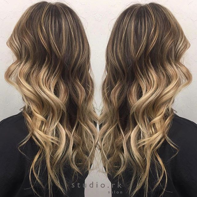 Hair By Annark Making This Beautiful Creation Balayagespecialist Ombrespecialist Studiork Fortmyers Best Hair Salon Long Hair Styles Hair