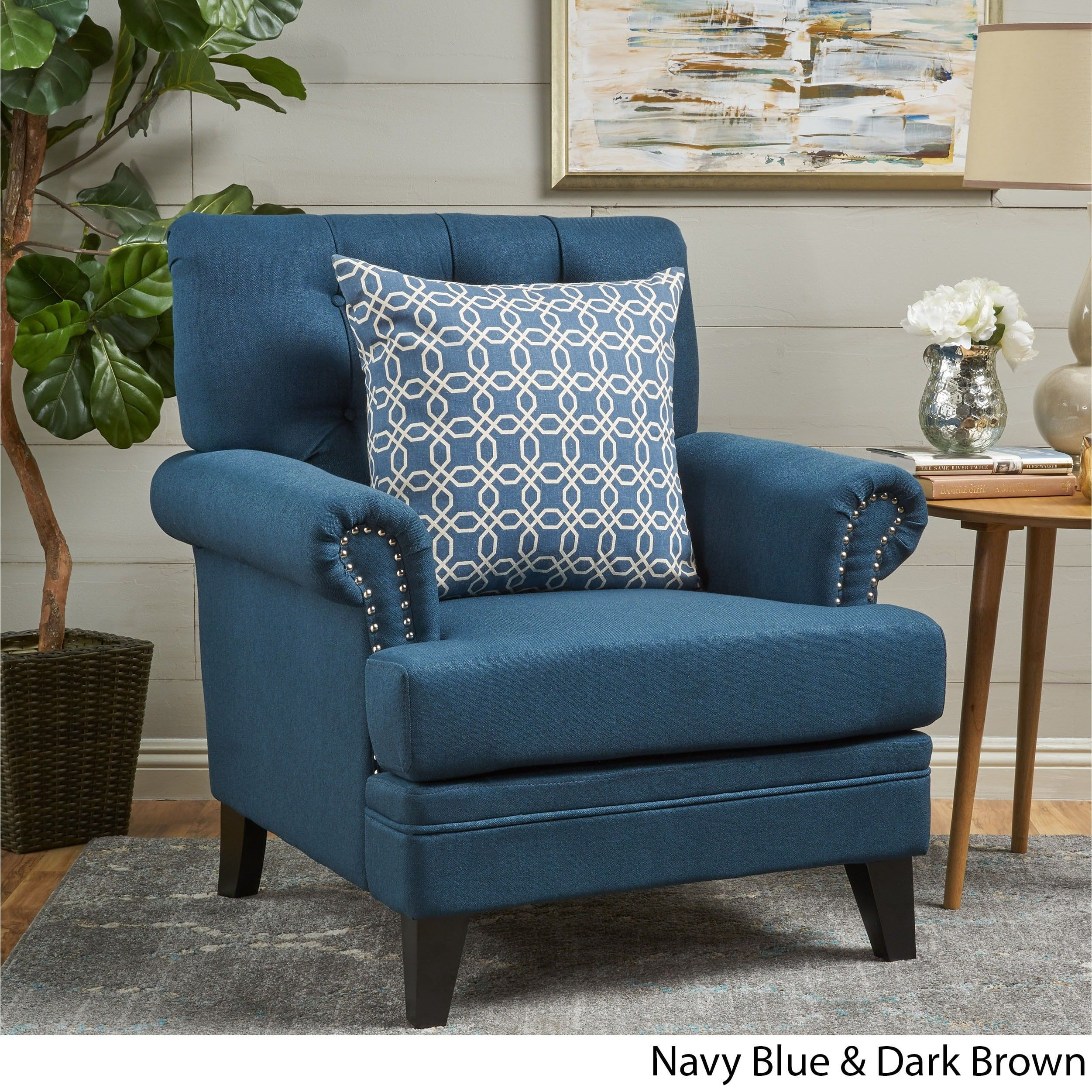 Merveilleux Anthea Fabric Club Chair By Christopher Knight Home | Overstock.com  Shopping   The Best Deals On Living Room Chairs