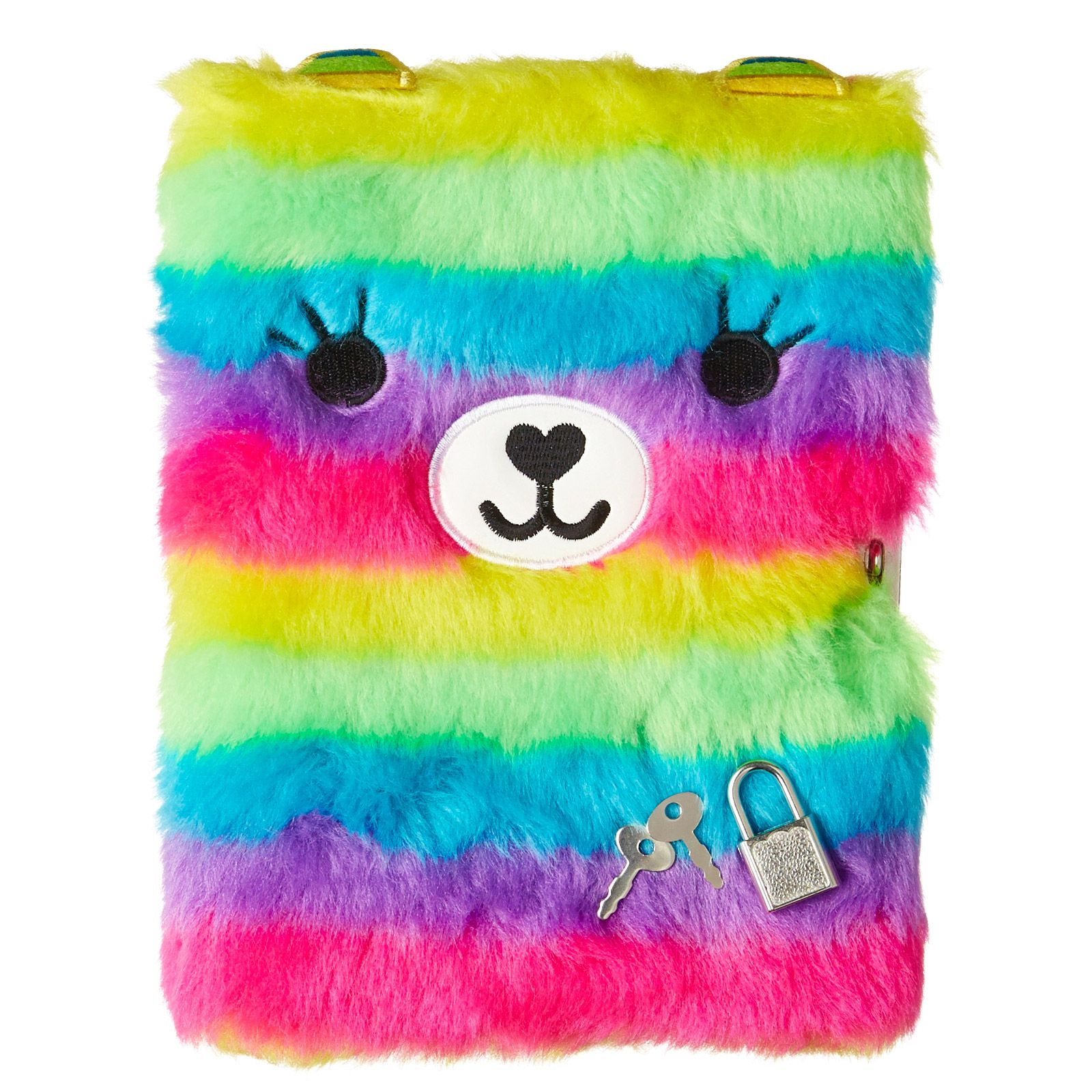Fluffy Friend Lockable Notebook | Smiggle UK | Cute school ...