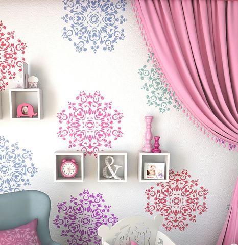 150 dise os de mandalas para decorar macetas paredes - Disenos para pintar paredes ...
