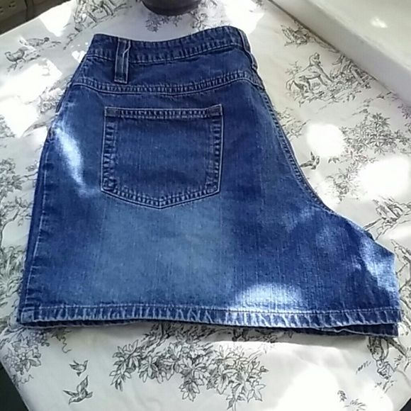 5 inch denim shorts