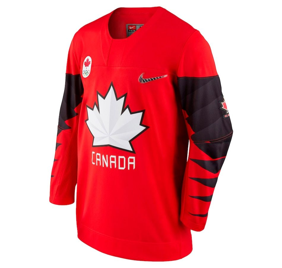 Team Canada Nike 2018 Olympic Red Hockey Jersey Canada Hockey Team Canada Hockey Jersey