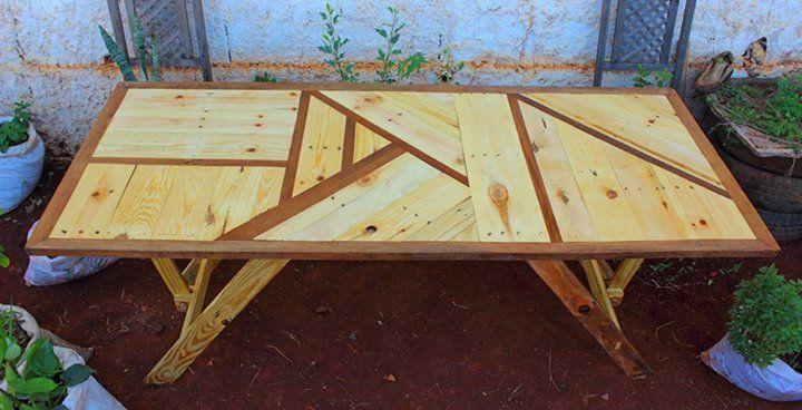 Tavolo pallet ~ Mobili tavoli sedie in pallet flab arredo pallet arredamento
