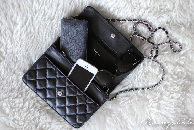 chanel wallet on chain acc bags pinterest. Black Bedroom Furniture Sets. Home Design Ideas