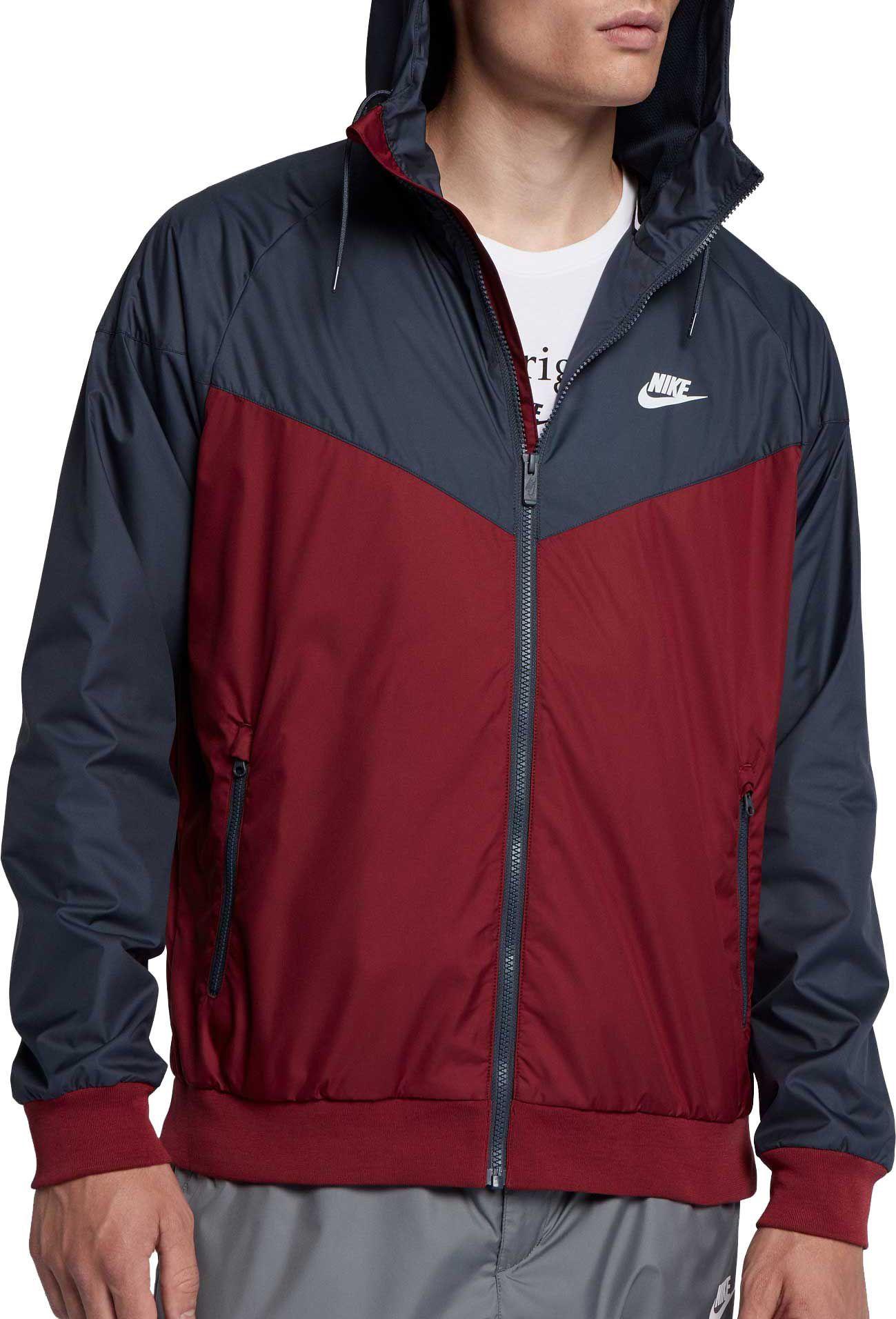huge selection of 61815 38599 Nike Men s Windrunner Full Zip Jacket, Size  Medium, Red