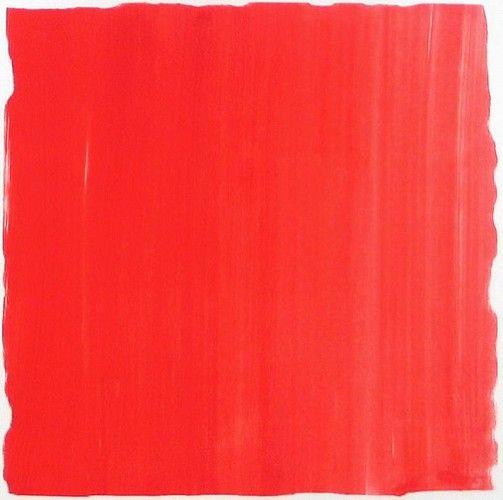 Karen J. Revis, Red 6 2004, silkscreen monoprint
