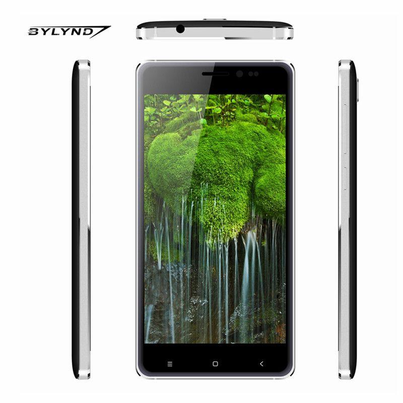 """원래 BYLYND M7 휴대 안드로이드 5.1 중국 스마트 폰 1 그램 RAM 8 그램 ROM 8MP 쿼드 코어 5.0 """"휴대 전화 잠금 해제 1280*720 HD"""