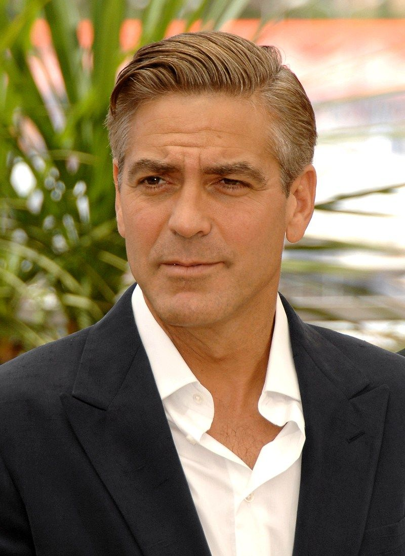 Mens haircuts for 50 year olds iwp adrianamillsleswordpress   georgeclooney