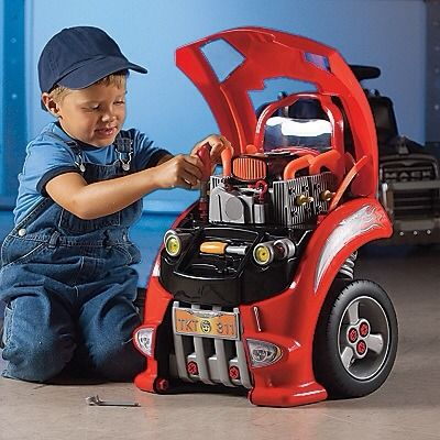 A Toy Mechanic S Car You Can Take Apart Put Back