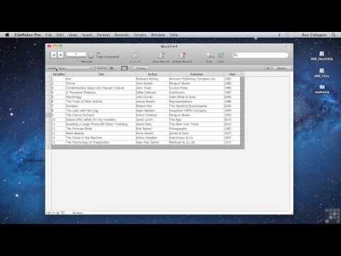 Filemaker pro 15 tutorial youtube