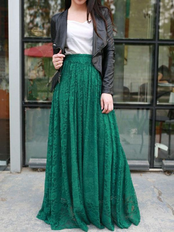 c5dd86a0ce8464 Comment porter une jupe longue ? | Things to Shop Soon | Maxi skirt ...