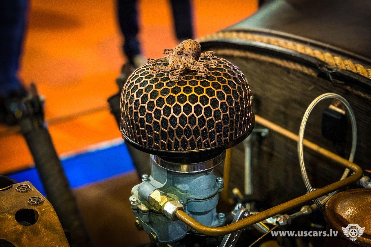 Auto Exotica 2019, Rīga Vintage microphone, Recording