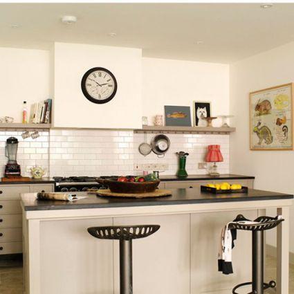El estilo retro es aplicable tanto a cocinas urbanas como rústicas - Ideas Con Mucho Estilo