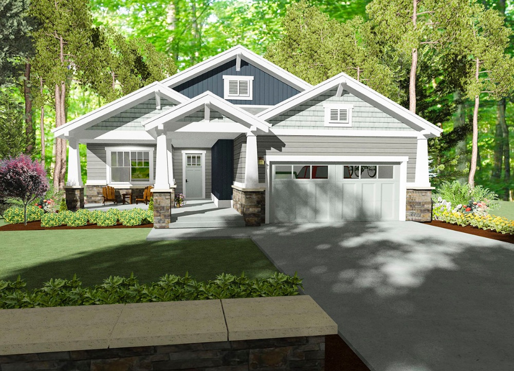 Plan 64440sc Cozy Bungalow House Plan Bungalow House Plans Craftsman House Plans New House Plans