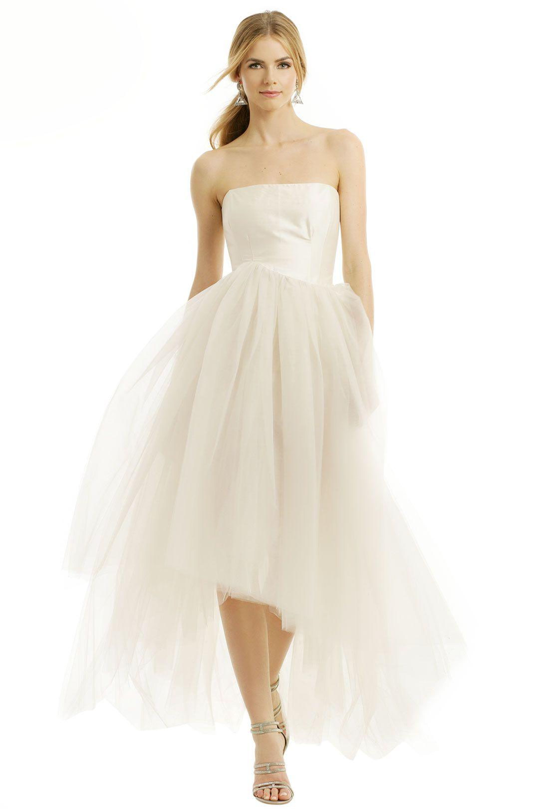 Wedding dresses rental  Sugar Coat Dress by allison parris at   Rent The Runway  One