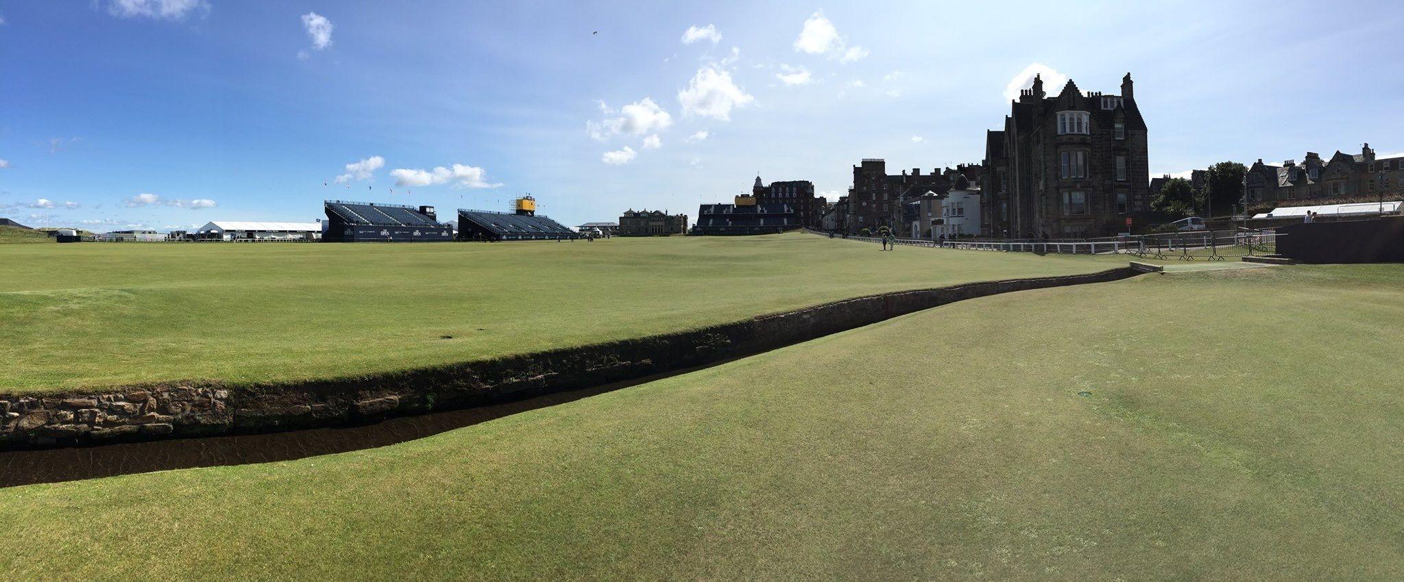 St. Andrew's golf course, Scotland
