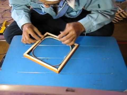 DIY how to make double side infinity mirror #1