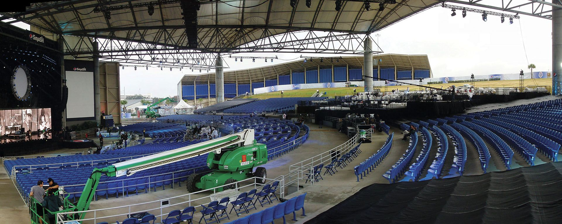 Ford Amphitheater Tampa Seating Capacity