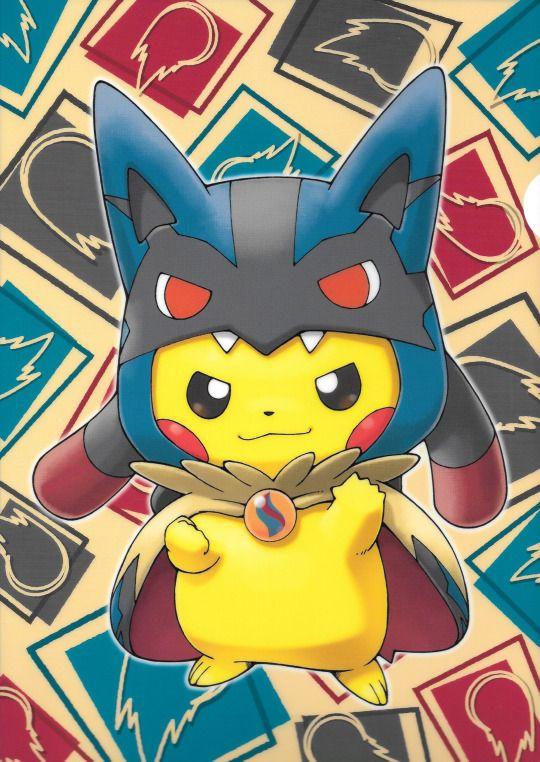 pikachu-mega lucario