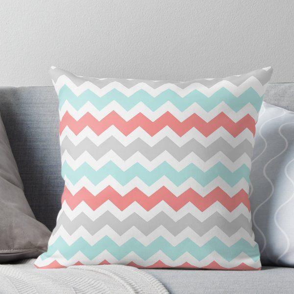 Coral Chevron Bedding Set - Beds : Home Design Ideas # ...