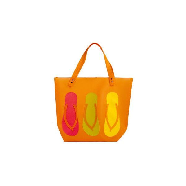 As cariocas não dispensam cores, estampas e peças descontraídas - moda... ❤ liked on Polyvore featuring bolsas and bags