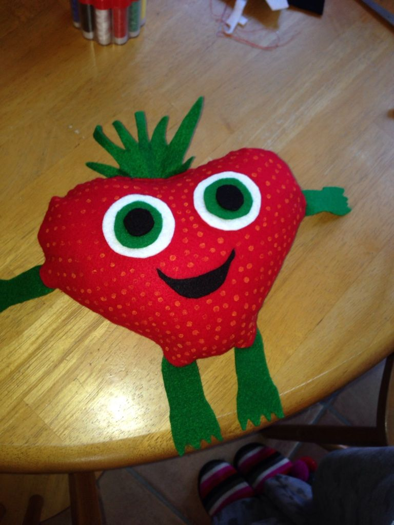 We made our daughter Strawberry from Cloudy with a chance of ...