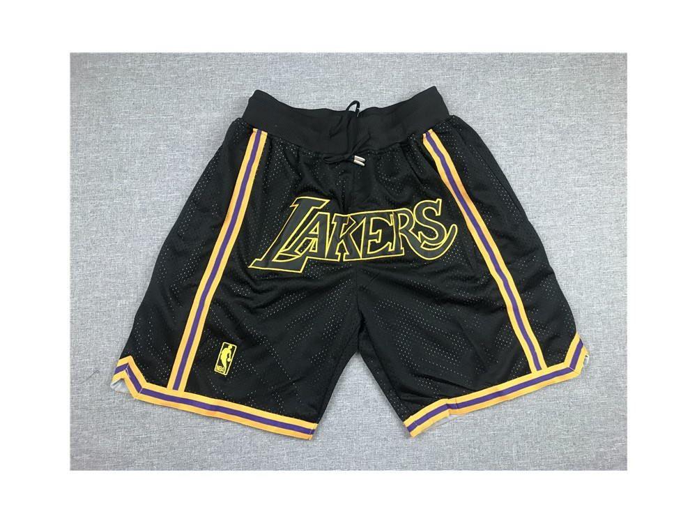 Men/'s Vintage Lakers Short Just Do Los Angeles Green