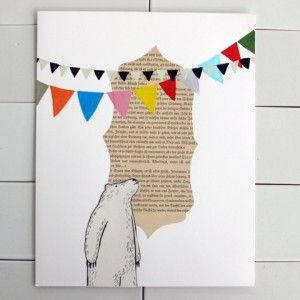bunting and bear. Jessie, I know you will like the pendant flagging! @Jess Liu Sutton Capstick