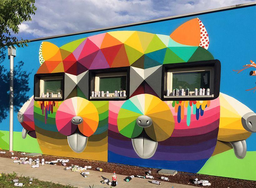 A LEGSZÍNESEBB OVI  Miért ne lehetne a gyerkőcök második otthona legalább olyan színes, mint a kicsik fantáziavilága? Okuda San Miguel szerint nagyon is lehet! Tetszik? Akkor nyomj egy like-ot! wink emoticon #építészet #streetart #színesfalak