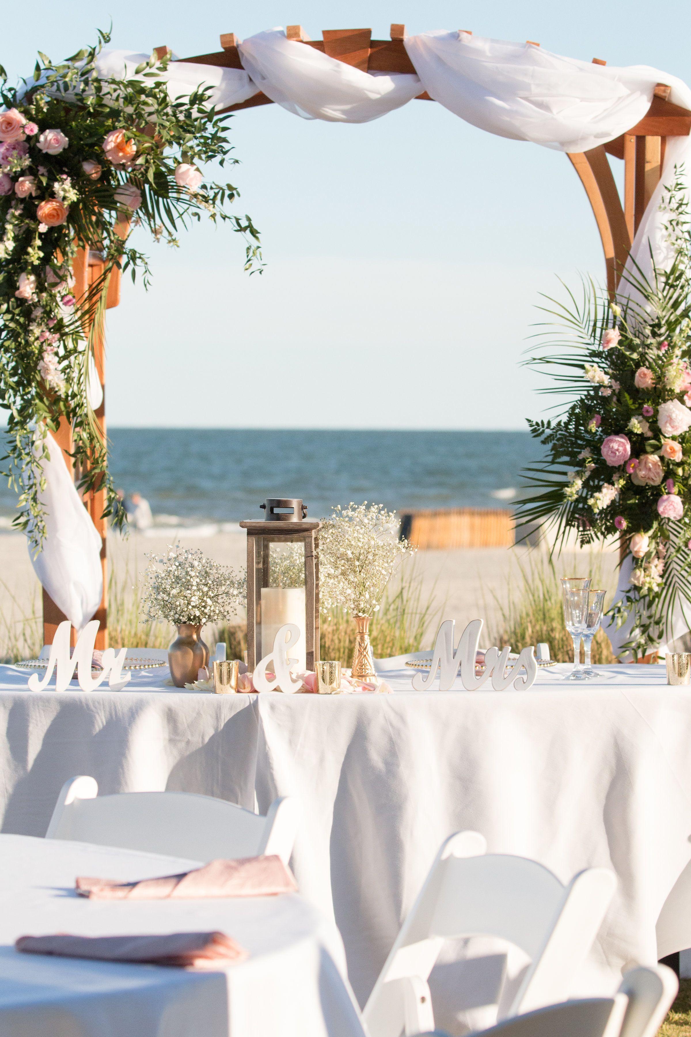 Hilton Head Marriott Resort Spa boho wedding dress/wedding
