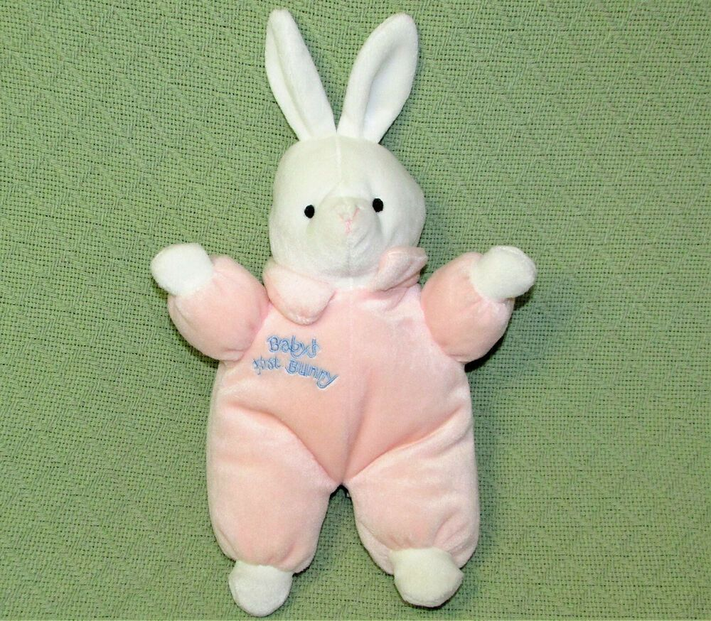 Predownload: Vintage Chosun Baby S First Bunny Pink Plush Just Friends Rattle Stuffed Animal Chosunjustfriends Animals Just Friends Plush [ 874 x 1000 Pixel ]