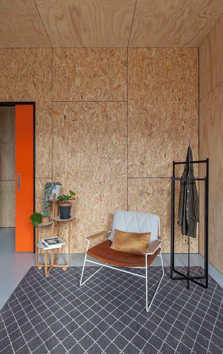 Decora tu casa con paneles OSB  Revestimiento madera, Decoración