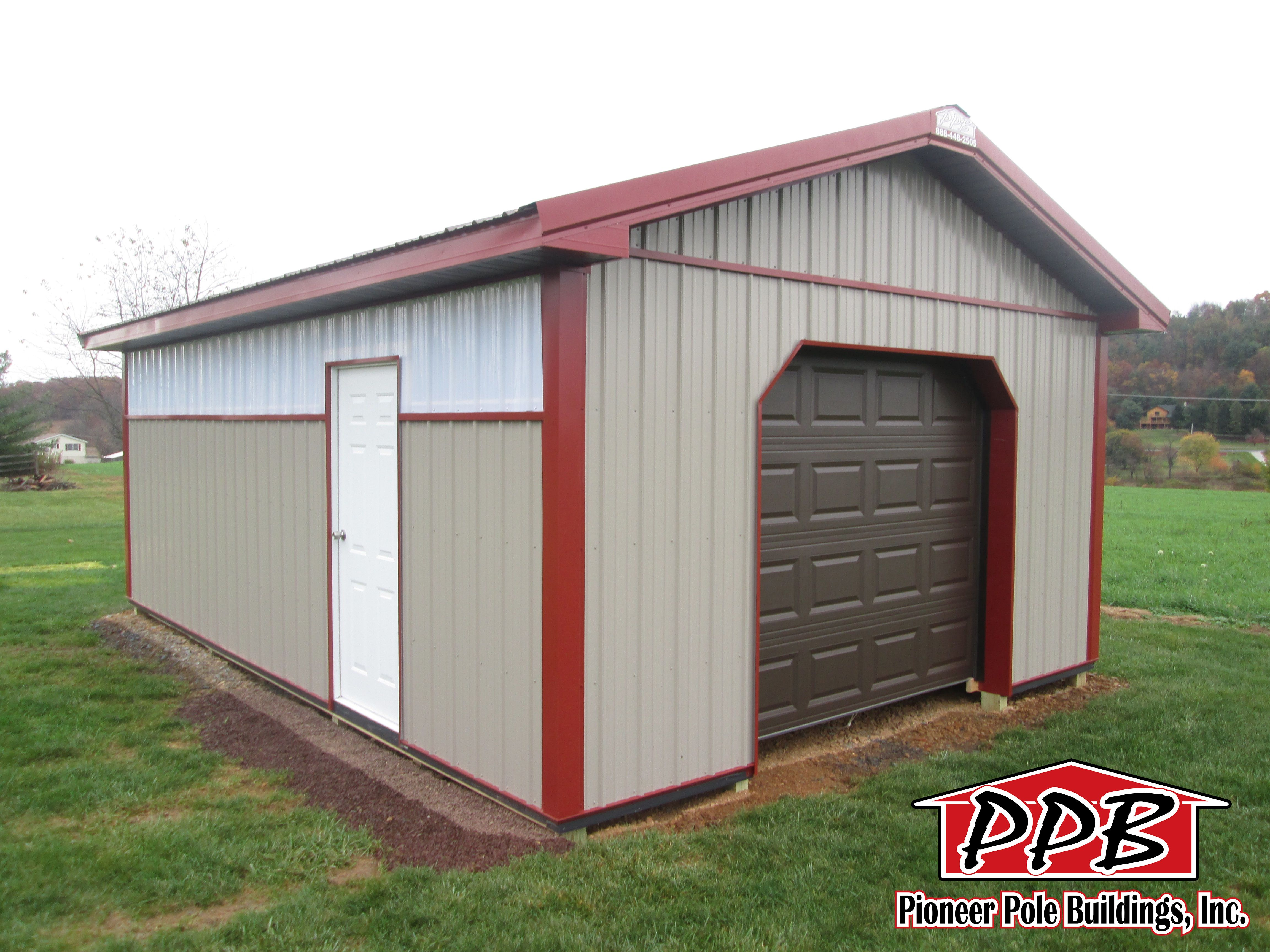 Dimensions 16 W X 24 L X 8 4 H 16 Standard Trusses 4 On Center 4 12 Pitch Colors Siding Color Clay Roo Roof Truss Design Roof Trusses Door Overhang