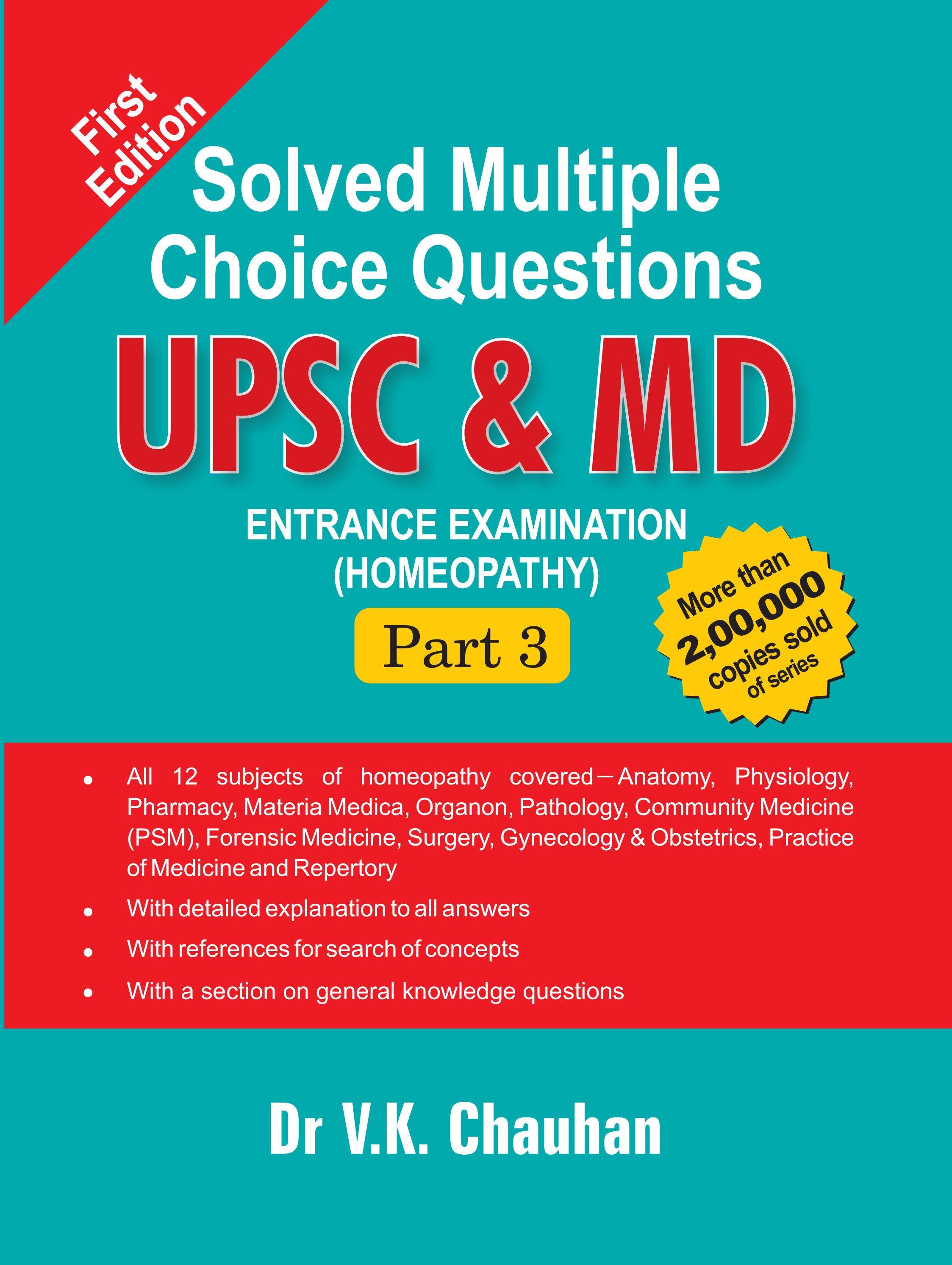 """Book review of """"Solved Multiple Choice Questions UPSC & MD Entrance ..."""