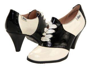 High heeled saddle shoes? Yes, please. | Saddle shoes, Heels