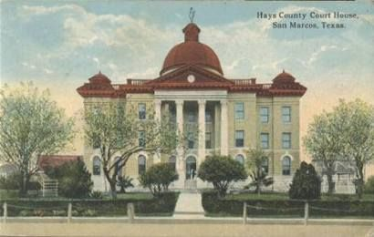 Hays County Courthouse San Marcos Texas San Marco Texas Travel Courthouse