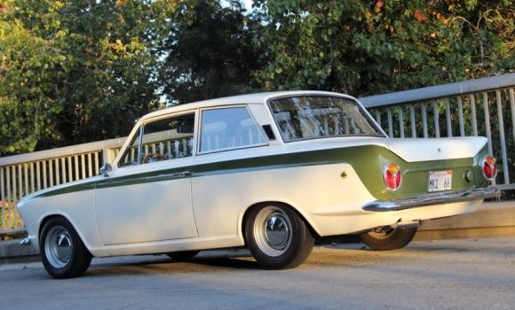 This 1966 Lotus Cortina Mk 1 is said by the seller to be the ...