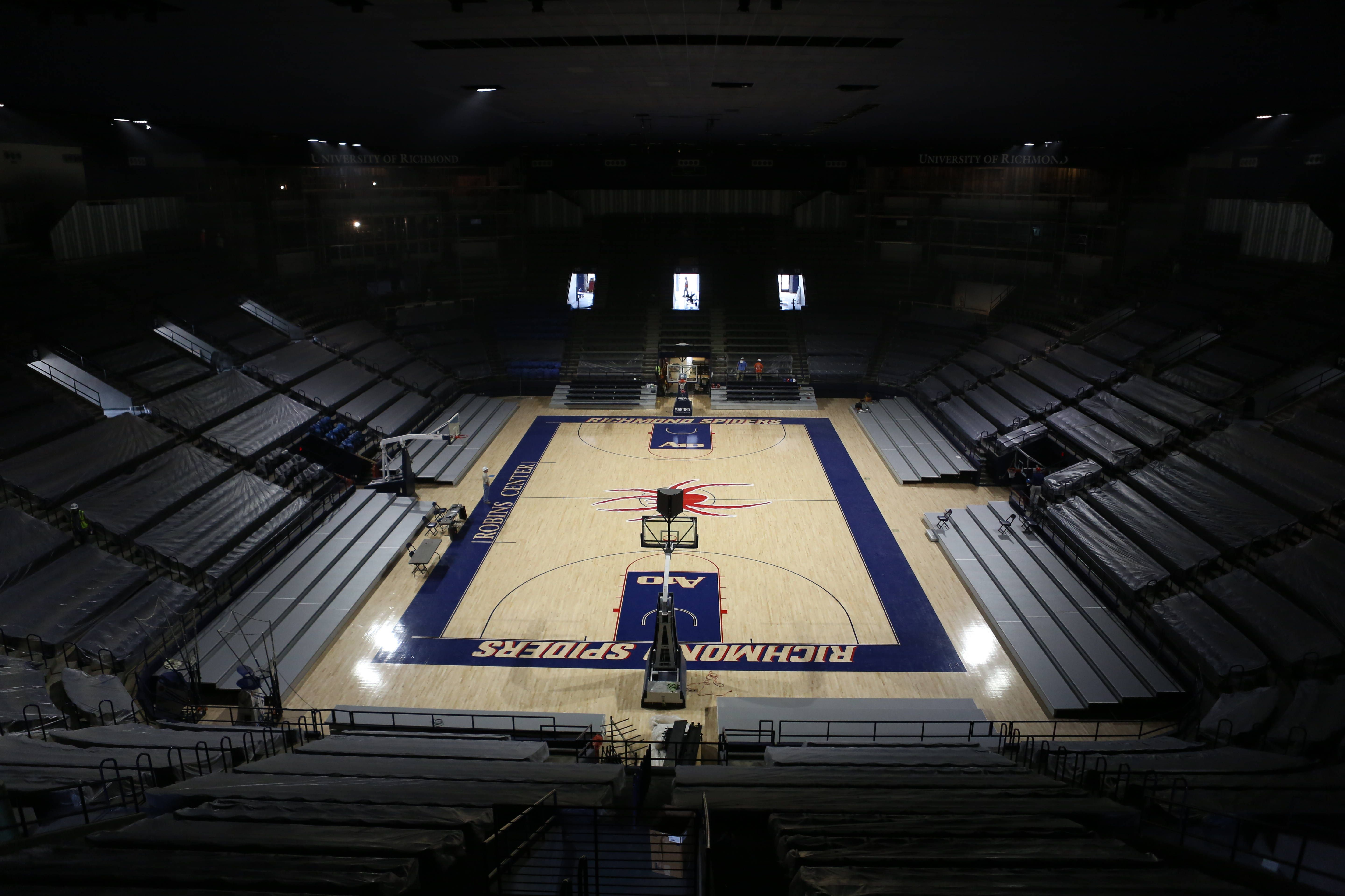 Robins Center Home Of The University Of Richmond Spiders Richmond Va University Of Richmond Richmond Spiders Basketball Court