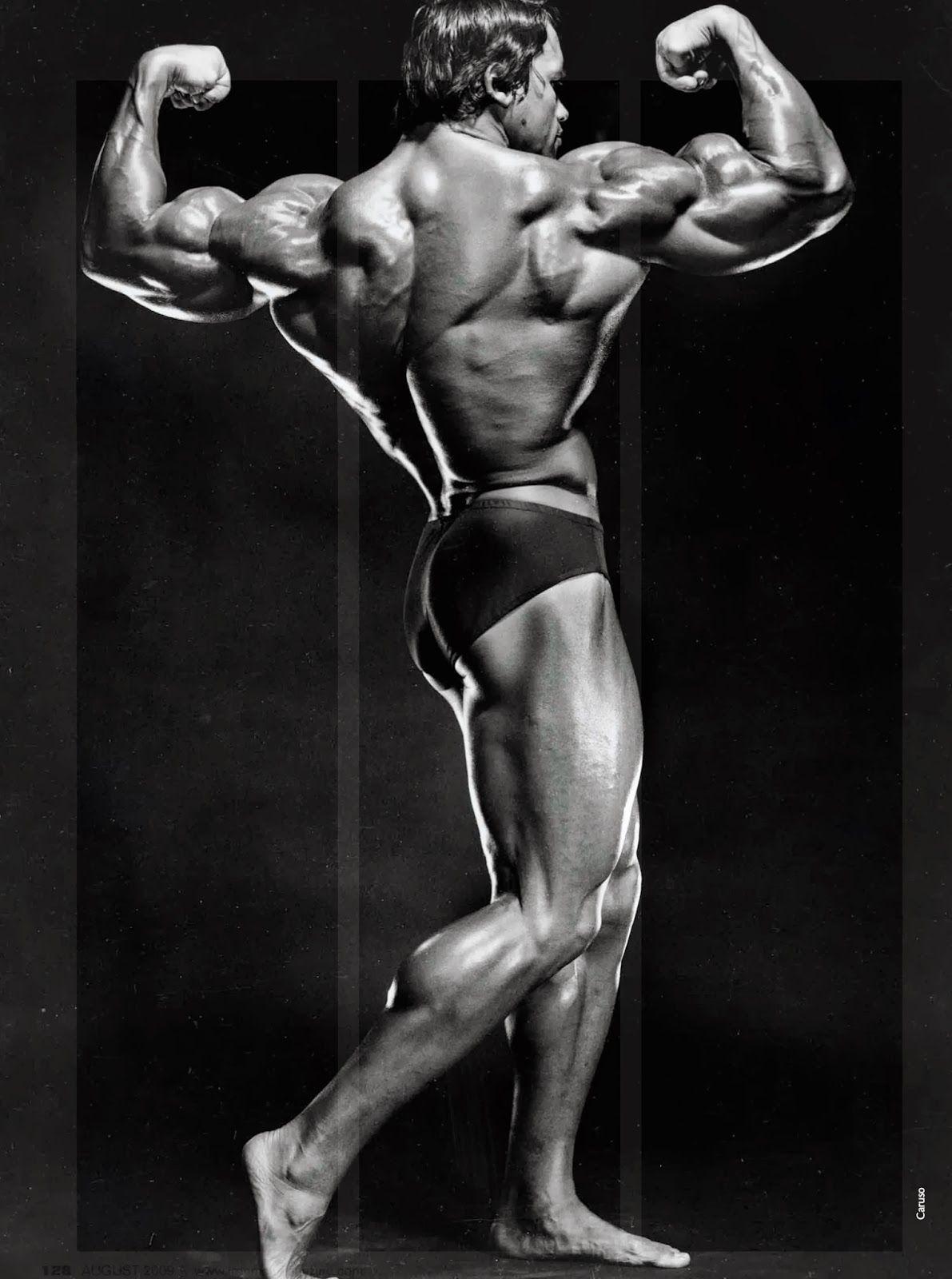 Arnold Schwarzenegger Working Out Wallpaper