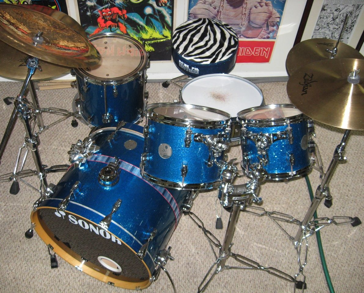 efca8a2d96e0 My drums...Sonor Force 3005
