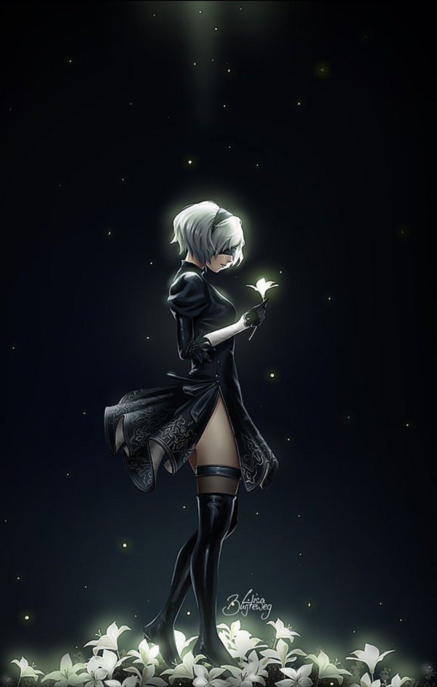 It S My Cake Day Please Enjoy Every Wallpaper On My Phone Nier
