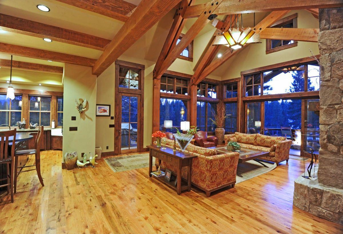 mountain home near Lake Tahoe California. Custom