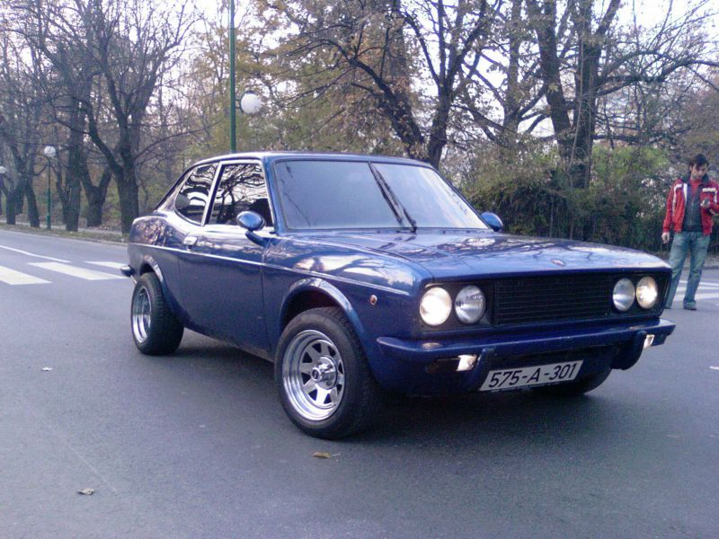 Fiat 128 Sport Coupe Looks Just Like The One I Had Around 1974