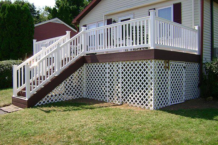 Lattice Under A Deck Can Be An Attractive Way To Create Storage Space Lattice Deck Porch Lattice Deck Pictures