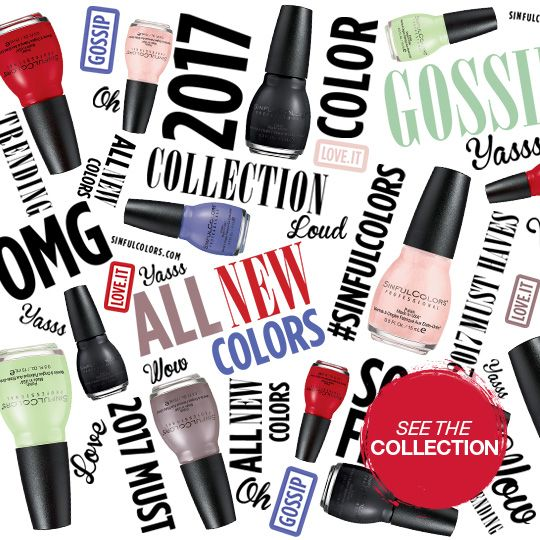 2017 new shades National | Sinful colors, Halloween nails ...